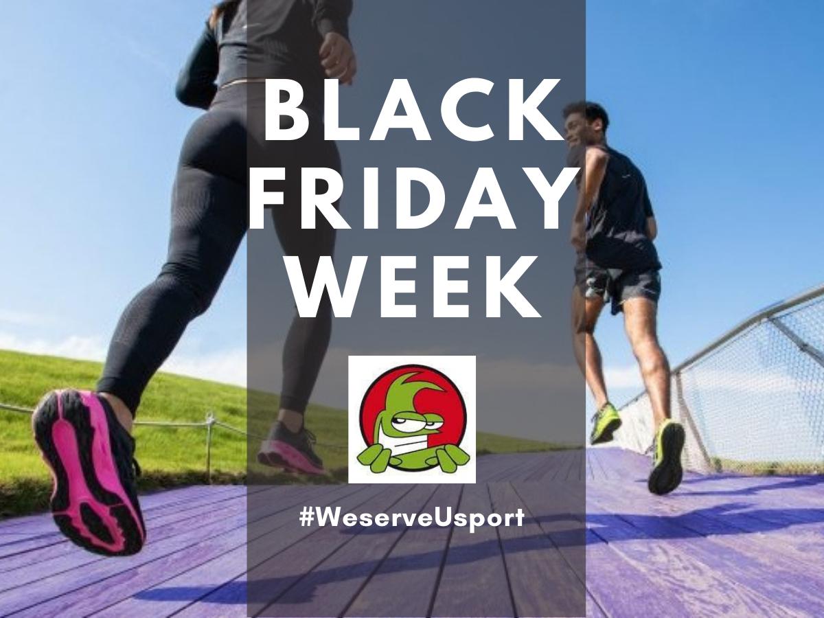 Black Friday sconti abbigliamento sportivo e attrezzature